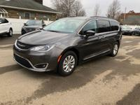 Gray 2017 Chrysler Pacifica Touring L FWD 3.6L V6 24V