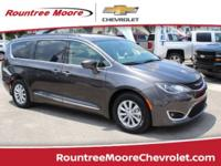 CARFAX One-Owner. Gray 2017 Chrysler Pacifica Touring L