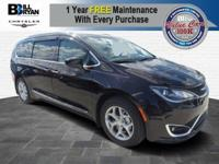 The all-new 2017 Chrysler Pacifica exudes a striking