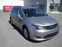 Gray 2017 Chrysler Pacifica Touring L FWD 9-Speed
