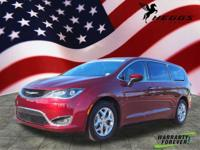 Velvet Red Pearlcoat 2017 Chrysler Pacifica Touring L