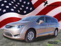 Molten Silver 2017 Chrysler Pacifica Touring L FWD