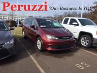 CARFAX One-Owner. Ruby 2017 Chrysler Pacifica Touring
