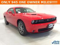 Options:  2017 Dodge Challenger Gt|Red|**** Awd ****
