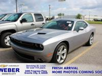 New Price! Recent Arrival! Silver Dodge Challenger