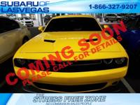 2017 Dodge Challenger R/T 2D Coupe Yellow Jacket SRT