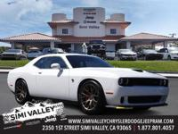 2017 Dodge Challenger SRT Hellcat  White and Quick