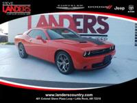 CARFAX One-Owner. Orange 2017 Dodge Challenger SXT RWD