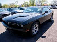 Options:  2017 Dodge Challenger Sxt|Black|Abs