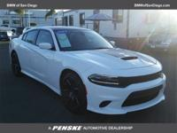 CARFAX One-Owner. Clean CARFAX. White 2017 Dodge