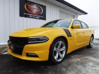 FREE POWERTRAIN WARRANTY! NEAR NEW YELLOW 2017 DODGE