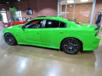 2017 Dodge Charger Green Go Clearcoat R/T 392 RWD SRT