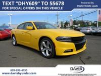 Yellow Jacket 2017 Dodge Charger R/T RWD 8-Speed