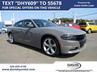 Gray Clearcoat 2017 Dodge Charger R/T RWD 8-Speed