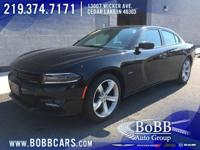 New Price! 2017 Dodge Charger R/T Pitch Black Clearcoat