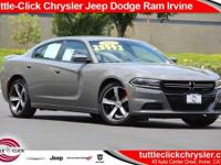 This 2017 Dodge Charger SE, has a great Destroyer Gray