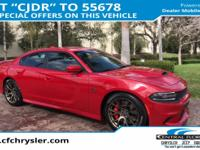 Red 4D Sedan CARFAX One-Owner. Clean CARFAX. BLUETOOTH