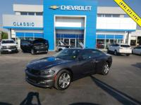 Gray 2017 Dodge Charger SXT AWD 8-Speed Automatic 3.6L
