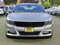 Options:  2017 Dodge Charger Sxt|Silver/Black|V6 3.6 L