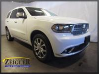 2017 Dodge Durango Citadel White Knuckle Clearcoat AWD