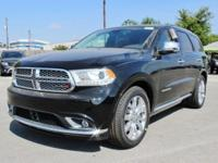 Purchase this brand NEW 2017 bold black Dodge Durango