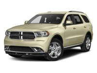 2017 Dodge Durango  AWD.  Could this be the vehicle for
