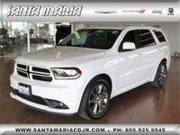 Options:  2017 Dodge Durango Gt Rwd|Fresh Oil Change;
