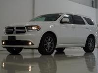 2017 Dodge Durango GT in White Knuckle Clearcoat, This