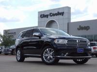 Priced below KBB Fair Purchase Price!2017 Dodge Durango