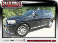 Options:  2017 Dodge Durango Sxt|Black/|V6 3.6 L