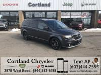 Very rare 2017 Grand Caravan GT. Heated leather and