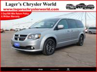 Clean, One-Owner, Accident Free Grand Caravan GT,