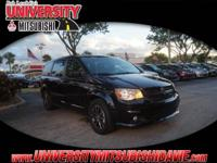 1-Owner 2017 Dodge Grand Caravan GT with 115V Auxiliary