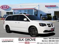 CARFAX One Owner. Clean CARFAX. White 2017 Dodge Grand