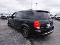 2017 Dodge Grand Caravan GT Black Onyx Crystal