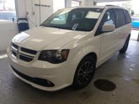 This 2017 Dodge Grand Caravan GT in White features: