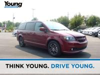 2017 Dodge Grand Caravan GT Red CARFAX One-Owner. Clean
