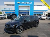 Black 2017 Dodge Grand Caravan GT FWD 6-Speed Automatic