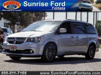 Our top-of-the-line 2017 Dodge Grand Caravan GT in