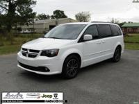 White 2017 Dodge Grand Caravan GT FWD 6-Speed Automatic