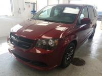 Recent Arrival! This 2017 Dodge Grand Caravan SE in Red