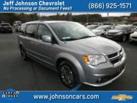2017 Dodge Grand Caravan, Clean Carfax 1 Owner, Factory