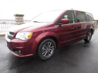 Our 2017 Dodge Grand Caravan SXT in Octane Red Pearl