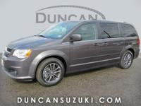 2017 Dodge Grand Caravan SXT Granite Gray with Black