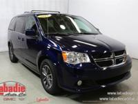 New Price! 2017 Dodge Grand Caravan SXT Blue Pearl