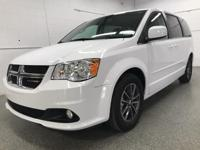 Options:  2017 Dodge Grand Caravan Sxt|White|Odometer
