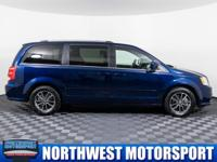 Clean Carfax One Owner Minivan with Backup Camera!