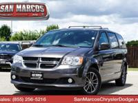 Boasts 25 Highway MPG and 17 City MPG! This Dodge Grand