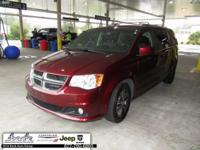 Red 2017 Dodge Grand Caravan SXT FWD 6-Speed Automatic