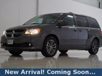 2017 Dodge Grand Caravan SXT in Granite Pearlcoat, This